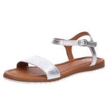 Sandale 'Lara' beige / silber