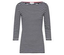 Shirt 'dalenaa Stripes' schwarz / weiß