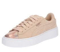 Sneaker 'LunaLux' creme / rosa