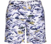 Badeshorts ' Sportswear ' mischfarben