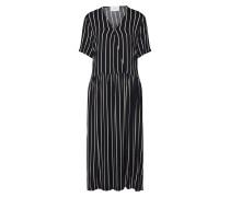 Kleid 'Anna' schwarz / weiß