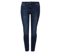Curvy Slim: Dunkle Stretchjeans