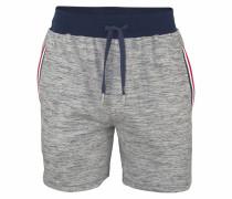 Shorts in Melange Optik graumeliert