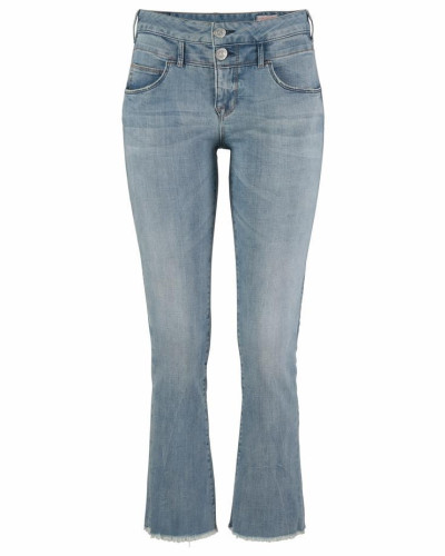 Bootcut-Jeans 'Baby Cropped' blue denim