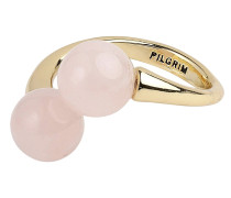 Ring 'Audre-Anne' gold / rosa