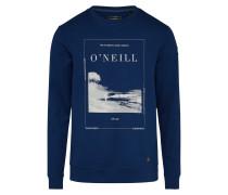 Sweatshirt 'Sonic' dunkelblau / weiß