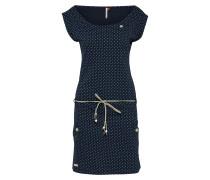 Kleid 'Tag Dots' dunkelblau / mischfarben