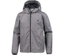 Jacke 'transport Windbreake' grau
