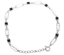 Armband 'r52003Zn' schwarz / silber