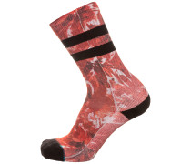 'Side Step Yadda' Socken rot