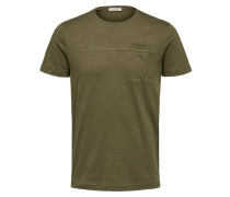 T-Shirt 'Utility' khaki