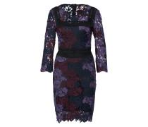 Kleid lila / schwarz