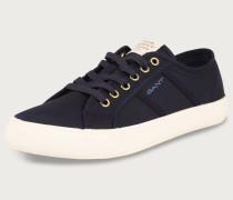Sneaker 'Zoe' beige / marine