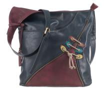 Handtasche blau / lila