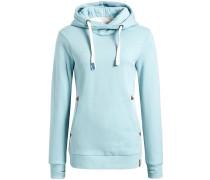 Sweatshirt 'ulyssa' hellblau / braun / weiß