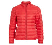Wattierte Jacke rot