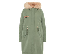 Parka 'color Fur' oliv