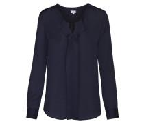 Fashion-Bluse 'Schwarze Rose' navy