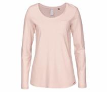 'Sleep & Dream' Shirt Langarm rosa