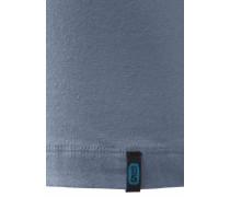 Herren Tanktop Unterhemd 95/5 taubenblau