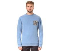 Buckmann Sweatshirt blau