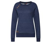 Sweatshirt 'daria Dots' indigo