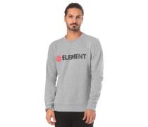 'Blazin Crew' Sweatshirt graumeliert