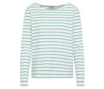 Shirt 'Ladies' grün / weiß