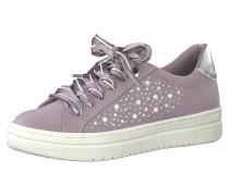 Sneakers flieder / silber
