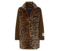 Mantel braun / schwarz