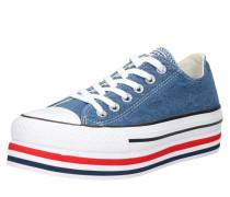 Sneaker 'all Star' blau / grün / weiß