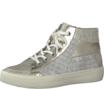 Sneaker High grau / silber