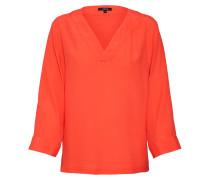 Bluse 'Fenile' orangerot