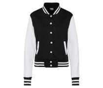 Jacke 'Ladies 2-tone College Sweatjacket'