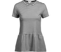 T-Shirt 'Maarlis' schwarz / weiß