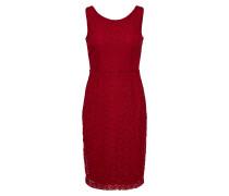Kleid 'Gwen Doily Lace' kirschrot