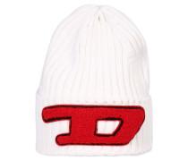 Mütze 'coder-D' rot / weiß