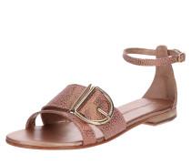Sandale 'Hanna 35' bronze / gold