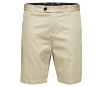 Tapered Fit Shorts beige