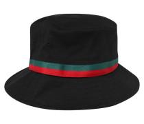 Hut 'Bucket' grün / rot / schwarz