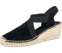 Sandaletten 'Tona' beige / schwarz