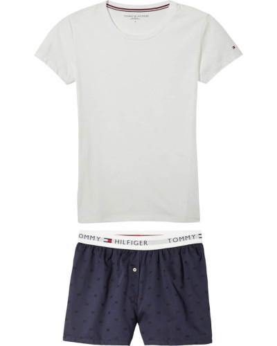 Pyjama navy / offwhite