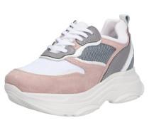 Sneaker nude / grau / rosa / weiß