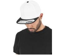 Snapback '110 Fitted' schwarz / weiß