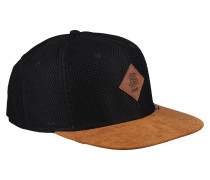 Cap 'Honey Knit' cognac / schwarz