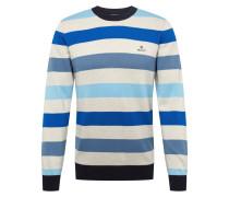 Pullover 'd1. Multi Colored Stripe Crew' blau