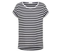 T-Shirt 'Dreamers' schwarz / weiß