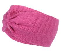 Stirnband mit Kaschmir pink