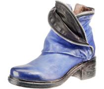 Stiefeletten blau / schwarz