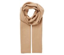 Flauschiger Schal beige